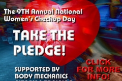 Logo for 9th Annual Women's Fitness Check